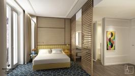 Pestana CR7, el futuro hotel de Cristiano Ronaldo en la Gran Vía. Estudio b76.