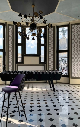 estudio b76 hotel CR7 gran via apertura