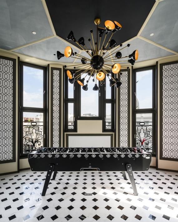 Hotel Pestana CR7 Gran Vía 29 Madrid. Estudio b76